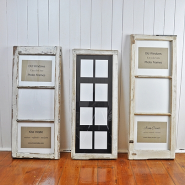 Upcycled Photo Frames