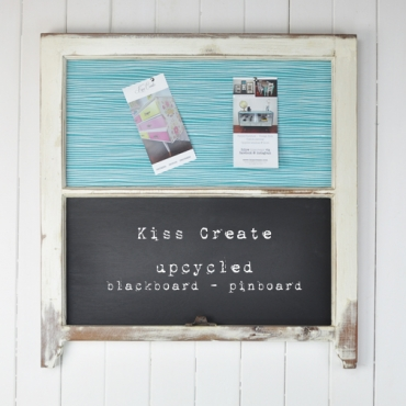 Upcycled Blackboard