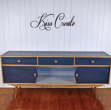 Smokey Retro Sideboard