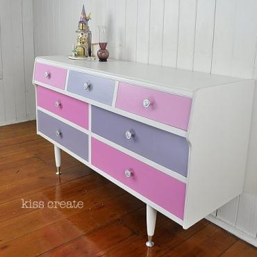 Pretty Retro Dresser