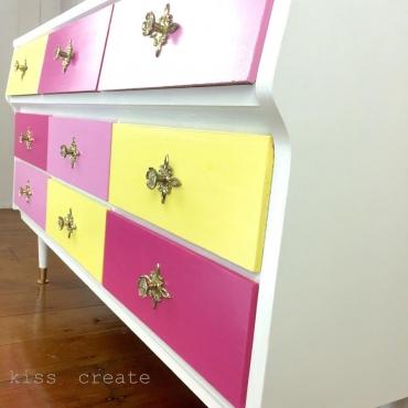 Custom Nursery Dresser
