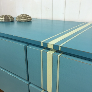 Striped drawers