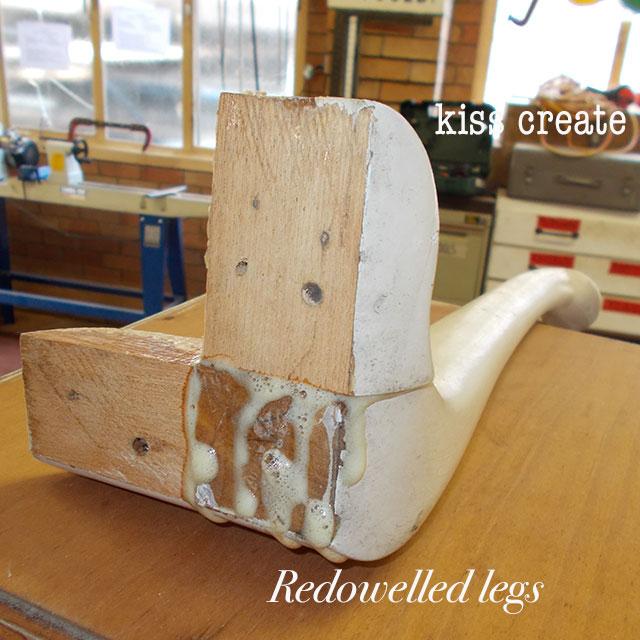 restoring queen anne legs